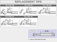 TQ-77RT-3C-L  Сменное жало (SOLDERING IRON TIP, GOOT, Japan, оригинал)