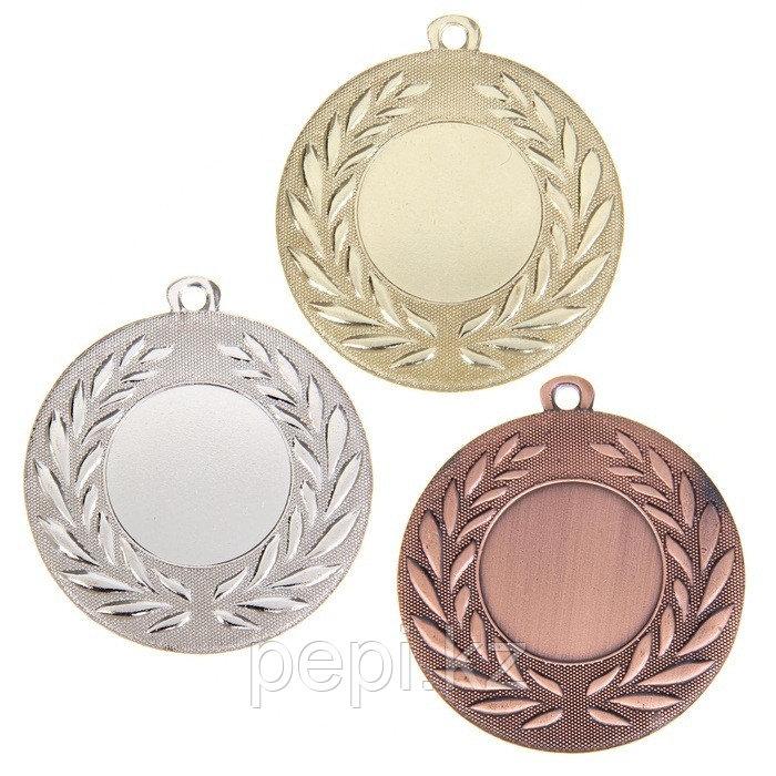 Медали призовые под нанесение d 5 см (комплект)