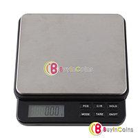 Цифровые кухонные весы 0,05гр./2000гр.