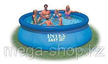 Надувной круглый бассейн Intex  366*76