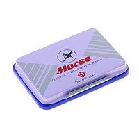 Штемпельная  подушка Horse №4 (70*48) синяя