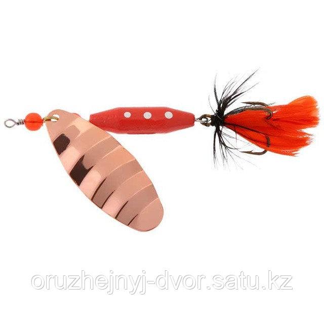 Блесна NORSTREAM вращ-ся Marble Fly №3 cooper black/orange fly N-AB3-KOR