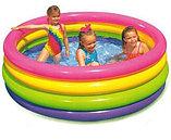 Надувной детский бассейн интекс 56441 168*46, фото 3