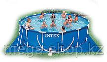 Каркасный сборный бассейн Metal Frame Pool 457*107
