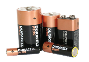 Батарейки основных типоразмеров