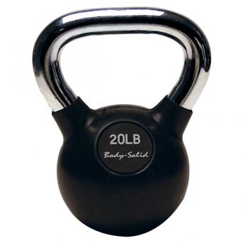 Гиря Body-Solid с хромированной ручкой 9,06 кг (KBC20)