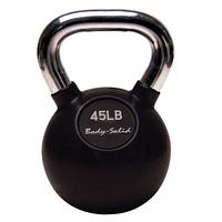 Гиря Body-Solid с хромированной ручкой 20,385 кг (KBC45)