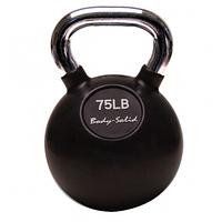 Гиря Body-Solid с хромированной ручкой 33,975 кг (KBC75)
