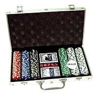 Покер в чемодане 300 фишек