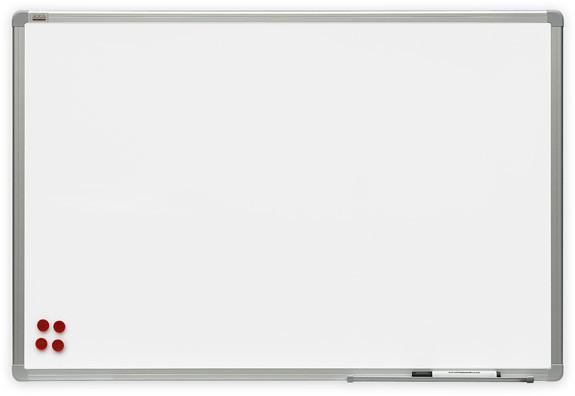 Доска маркерная магнитная в раме ALU23 анод 90х60 см 2x3 (Польша)