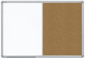 Доска COMBI маркерная магнитная/ пробковая 120х90см ALU23 2x3 (Польша)