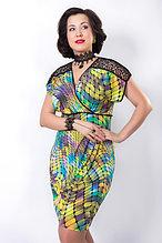 Эффектное платье Wisell. Размеры - 54, 56.