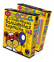 """Фантазёр 407052 Фреска с блестками """"Медвеженок"""""""