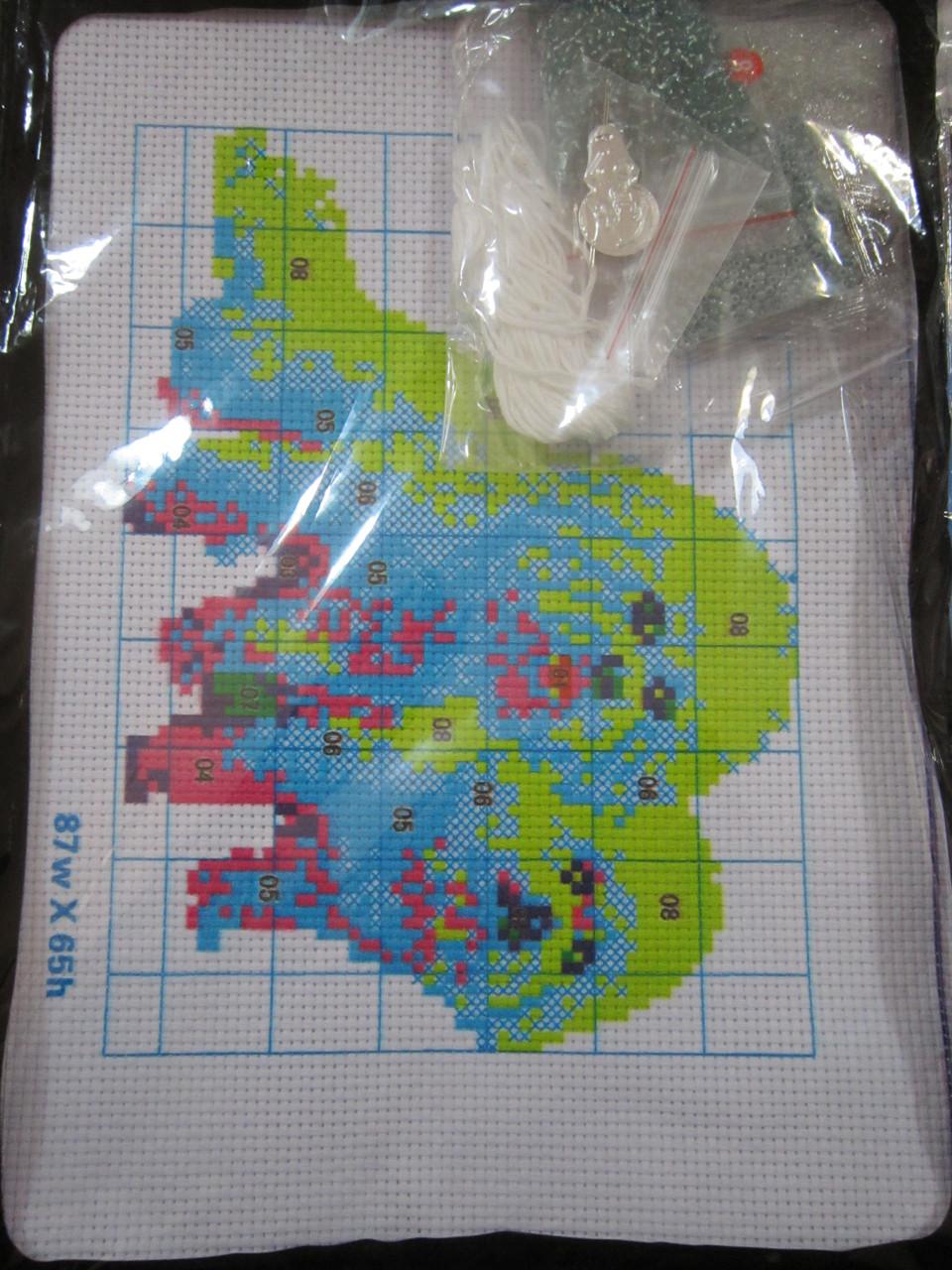 Вышивка бисером для детей  20х28 см