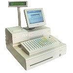 "8"" POS-система POSIFLEX PB-3600 (PB3600 LM-2008 KB 6600) Ivory"