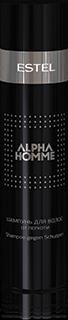 Шампунь для волос от перхоти Estel ALPHA HOMME, 250 мл.