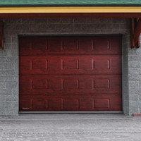 Ворота секционные RSD02, 2000*2000(h) мм, автоматические