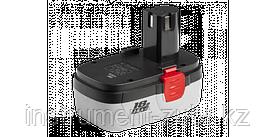 Аккумуляторная батарея повышенной емкости 18 В, N-Cd, 2.0 Ач, ЗУБР