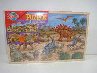 Пазлы 4в1 . Динозавры