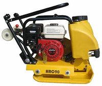 Виброплита ХЗР-80А (двигатель Хонда, с бочком для воды)