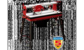 Электроплиткорез ЗУБР, макс глубина 90°-30мм/45°-25мм, стол 785х385мм, 200х25.4х2.2мм, 2950об/мин, 800Вт