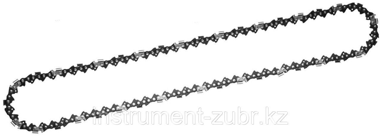 "Цепь для бензопилы, ЗУБР 70301-35, тип 1, шаг 3/8"", паз 0,050"", для шины 14""(35 см)"
