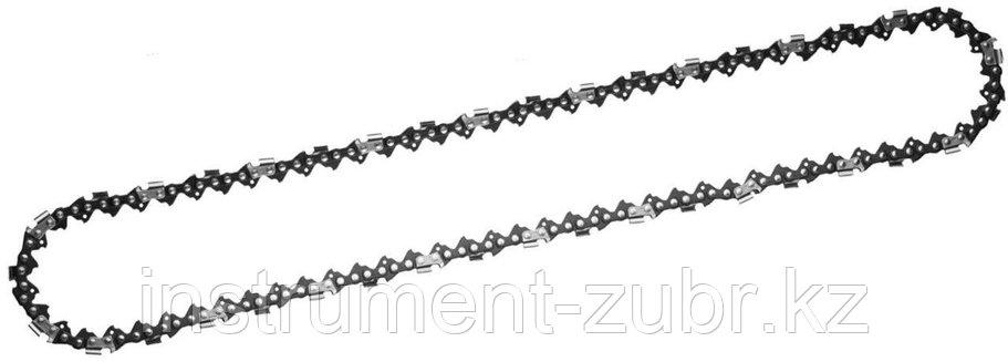 """Цепь для бензопилы, ЗУБР 70301-35, тип 1, шаг 3/8"""", паз 0,050"""", для шины 14""""(35 см), фото 2"""