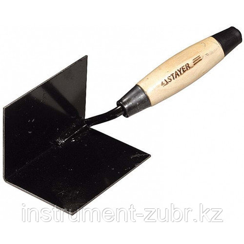 Кельма STAYER с деревянной усиленной ручкой для внутренних углов