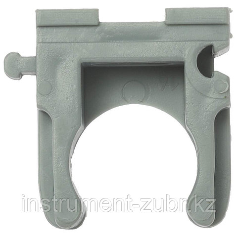 Клипса полипропиленовая, для металлопластиковых труб, 32 мм, 50 шт, ЗУБР, фото 2