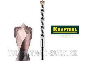 Сверло KRAFTOOL по бетону, ударное с самоцентрирующим наконечником, цилиндрический хвостовик, d8х120мм