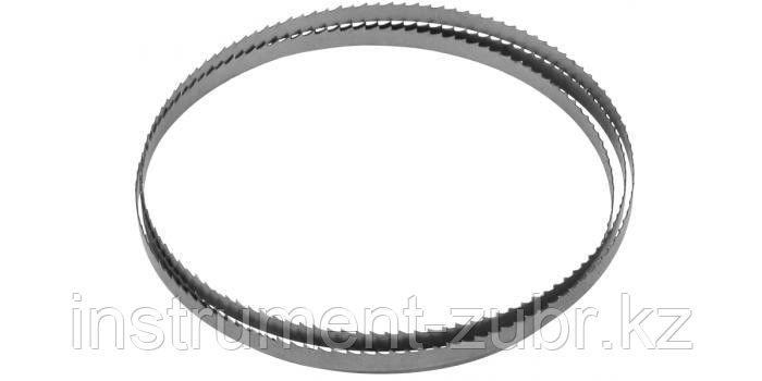 Полотно ЗУБР для ленточной пилы ЗПЛ-350-190, L-1425мм, H-8,0мм, шаг зуба-2мм (12TPI)