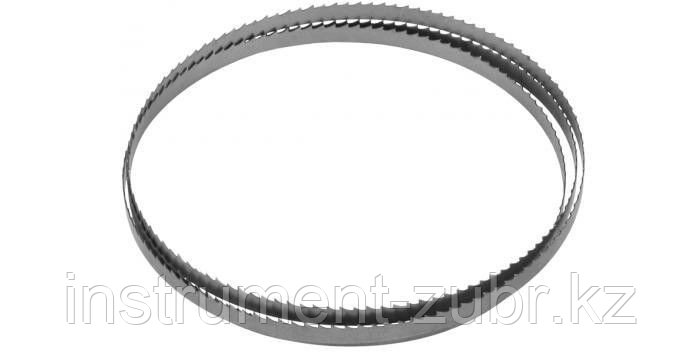 Полотно ЗУБР для ленточной пилы ЗПЛ-750-305, L-2234мм, H-10,0мм, шаг зуба-4мм (6TPI), материал: углерод сталь-65Г