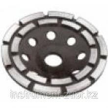 Чашка ЗУБР алмазная сегментная двухрядная, высота 22,2мм, 125мм