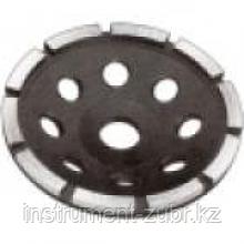Чашка ЗУБР алмазная сегментная однорядная, высота 22,2мм, 115мм