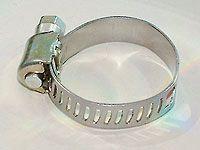 Хомуты оцинкованные, просечная лента 12.7 мм, 38-59 мм, 100 шт, ЗУБР