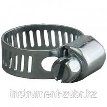Хомуты стальные оцинкованные, 14-27 мм, 5шт, STAYER