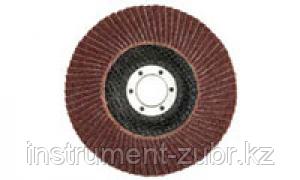 Круг лепестковый торцевой, 125х22,2мм, тип КЛТ 1, ЗУБР P60, фото 2