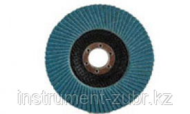 Круг лепестковый торцевой циркониевый, 125х22,2мм, тип КЛТ 1, ЗУБР P60