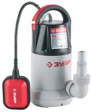 Насос погружной, ЗУБР ЗНПЧ-750, дренажный, для чистой воды, пропускная способность 250 л/мин, 750Вт, напор 8.5 м