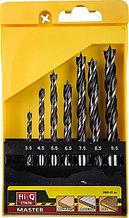 """Набор сверл спиральных по дереву """"M-type"""", 7шт(d=3.5-9.5мм), М-образная заточка, сталь HCS, STAYER Professional 2942-H7"""