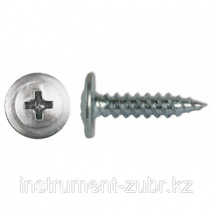 Саморезы ПШМ-С со сверлом для листового металла, 25 х 4.2 мм, 12 шт, ЗУБР, фото 2
