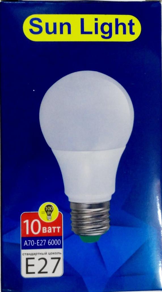 Светодиодные лампы LED А70-10Вт.6000К