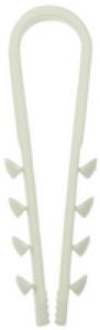Дюбель-хомут для круглого кабеля ДХ-К, 5 - 10 мм, 15 шт, нейлоновый, ЗУБР