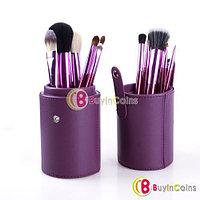 Набор из 12 кистей (фиолетовый) - Make Me Blush