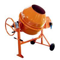 Бетоносмеситель СБР-260В-01 260 л, 0,75 кВт, 220 В, редуктор