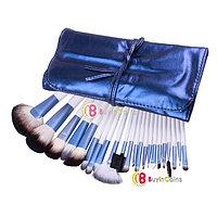 Набор из 22 кистей для профессионального макияжа + сумочка, фото 1