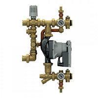Смесительная группа с насосом для систем отопления и теплого пола с эл. регул. Giacomini R557RY042