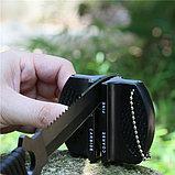 Компактная мини точилка для ножей - с двумя уровнями заточки, фото 2
