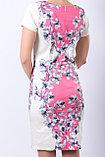 Эффектное платье из текстильного полотна на хлопковой основе. Размеры - 44, 46., фото 4
