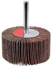 """Круг шлифовальный ЗУБР """"МАСТЕР"""" веерный лепестковый, на шпильке, тип КЛО, зерно-электрокорунд нормальный, P120, 40х80мм"""